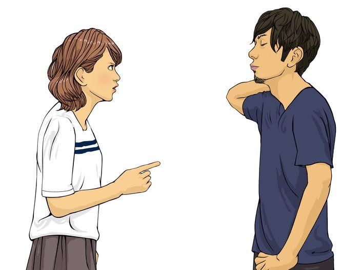 B型の彼氏と喧嘩すると最悪の場合にも!一番よい方法は母親の目線で放っておくことかも
