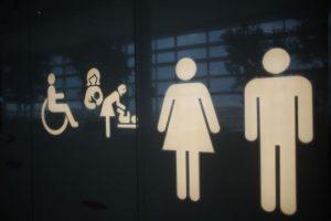 夜中のトイレ
